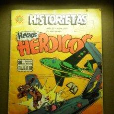 Cómics: TEBEO - COMIC - HISTORIETAS DE HECHOS HEROICOS - Nº 203 - EDICIONES SOL, S.A. - 1958. Lote 86970104