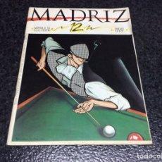 Cómics - MADRIZ Nº 12 , ED. AYUNTAMIENTO MADRID - 86971872