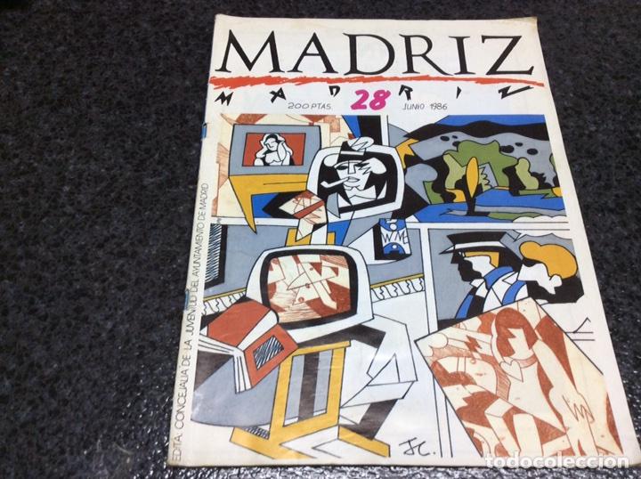 MADRIZ Nº 28 , ED. AYUNTAMIENTO MADRID (Tebeos y Comics Pendientes de Clasificar)