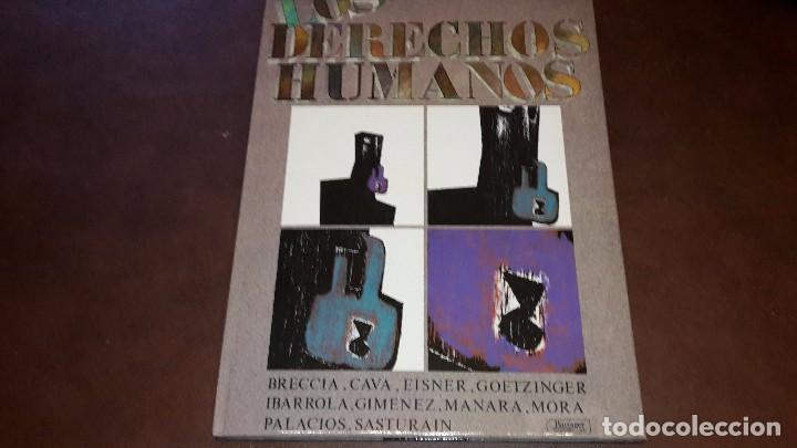 LOS DERECHOS HUMANOS. VARIOS AUTORES. EDITORIAL IKUSAGER 1985 (Tebeos y Comics - Comics otras Editoriales Actuales)