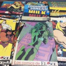 Cómics: LOS COMICS DE EL SOL - COLECCION COMPLETA EN 45 EJEMPLARES (PERSONAJES MARVEL ). Lote 87001228