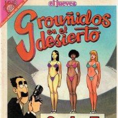 Cómics: CÓMIC GROUÑIDOS EN EL DESIERTO Nº 86 . Lote 87007808