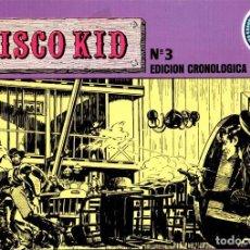 Cómics: CISCO KID. COL. HEROES DE SIEMPRE. EDICION CRONOLOGICA. Nº 3. ART COMICS. EDICIONES ESEUVE. AÑO 1990. Lote 87299624