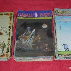 Cómics: LOT DE 118 REVISTES CAVALL FORT ,DEL Nº 501 A 648,14 Nº DOBLES , ANYS 1983/1989 + 1 DE REGAL. Lote 87368272