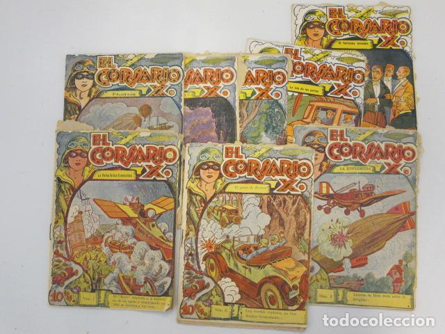 EL CORSARIO X. COLECCIÓN GRANDES AVENTURAS. LOTE DE 8. NÚM: 1, 2, 3, 4, 8, 10, 11, 14. (Tebeos y Comics - Comics otras Editoriales Actuales)