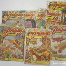 Cómics - El Corsario X. Colección grandes aventuras. Lote de 8. Núm: 1, 2, 3, 4, 8, 10, 11, 14. - 87403456