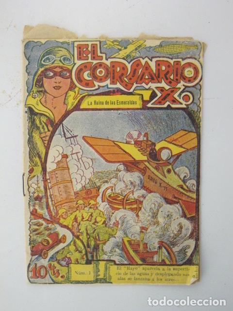 Cómics: El Corsario X. Colección grandes aventuras. Lote de 8. Núm: 1, 2, 3, 4, 8, 10, 11, 14. - Foto 2 - 87403456