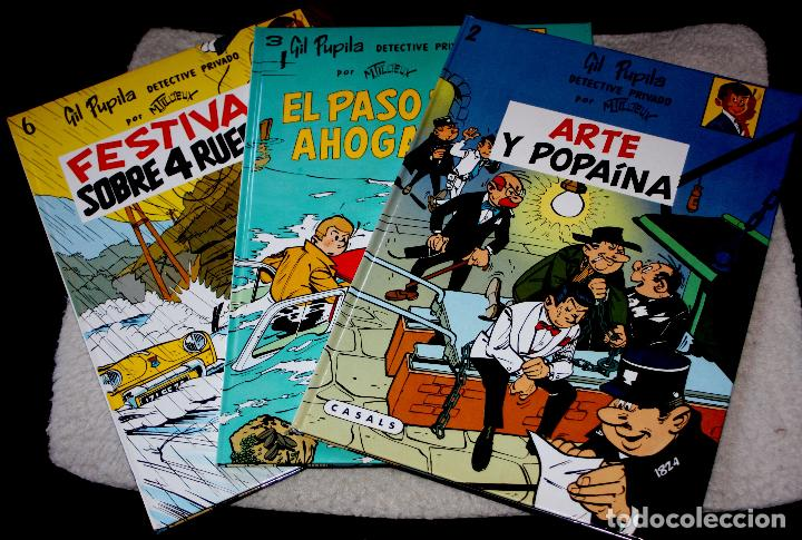 GIL PUPILA ,DETECTIVE PRIVADO (DE M. TILLIEUX): TRES TOMOS NUEVOS (Tebeos y Comics - Comics otras Editoriales Actuales)