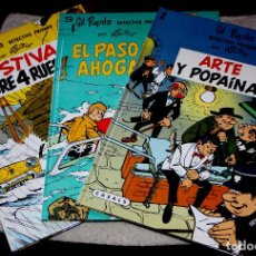 Cómics: GIL PUPILA ,DETECTIVE PRIVADO (DE M. TILLIEUX): TRES TOMOS NUEVOS. Lote 87500112