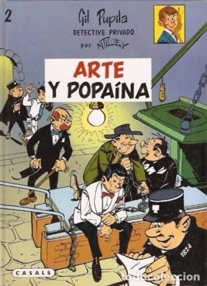 Cómics: GIL PUPILA ,detective privado (de M. TILLIEUX): TRES TOMOS NUEVOS - Foto 2 - 87500112