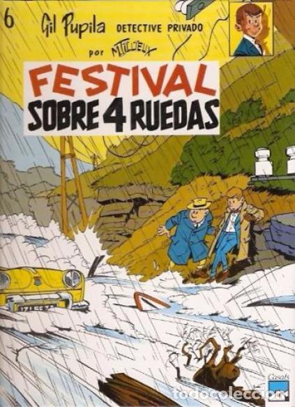 Cómics: GIL PUPILA ,detective privado (de M. TILLIEUX): TRES TOMOS NUEVOS - Foto 4 - 87500112