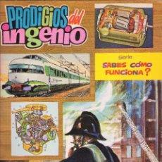 Comics - Serie: ¿Sabes como funciona? año 1972. nº 2 Prodigios del ingenio. - 87504552