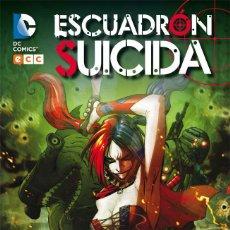 Cómics: LOTE ECC CARTONE ESCUADRON SUICIDA: EL ALZAMIENTO DE BASILISCO Y PATADA EN LA BOCA. Lote 87566768