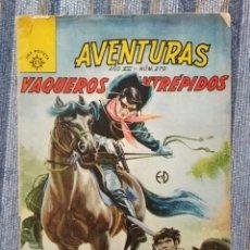 Cómics: AVENTURAS, VAQUEROS INTREPIDOS N° 270 (EDITORA SOL 1964) -NO NOVARO-. Lote 169276797