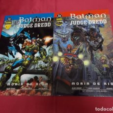 Cómics: BATMAN. JUDGE DREDD. MORIR DE RISA. COLECCION COMPLETA. DOS TOMITOS. NORMA EDITORIAL.. Lote 89154292