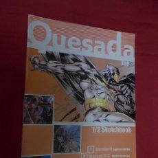 Comics: QUESADA. JOE. SKETCHBOOK. KALEIDOSCOPE.. Lote 89217972
