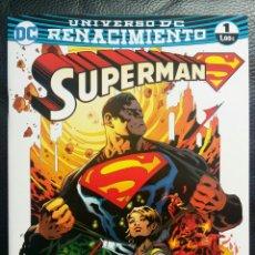 Cómics: SUPERMAN 1 RENACIMIENTO ECC. Lote 89273028