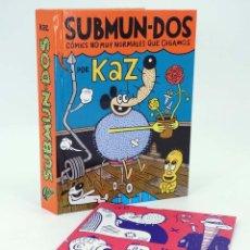 Cómics: SUBMUN-DOS, CÓMICS NO MUY NORMALES QUE DIGAMOS + POSTER 80X60 CM (KAZ PRAPOULENIS) AUTSAIDER, 2014. Lote 199194153