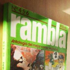 Cómics: RAMBLA - RETAPADO - Nº 4-5-6 - ANTOLOGÍA DEL MEJOR CÓMIC ESPAÑOL. Lote 89295248