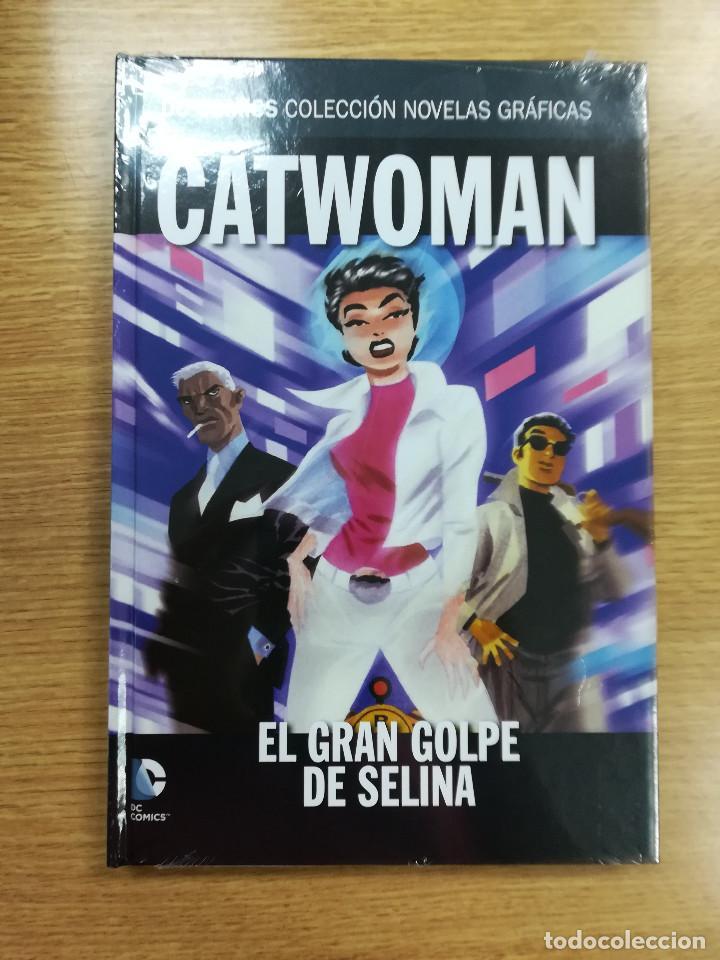CATWOMAN EL GRAN GOLPE DE SELINA (DC COMICS COLECCION NOVELAS GRAFICAS #32) (ECC - SALVAT) (Tebeos y Comics - Comics otras Editoriales Actuales)
