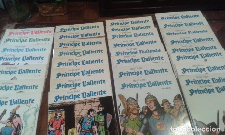Cómics: PRINCIPE VALIENTE. HAROLD FOSTER. 32 volúmenes 3 estuches - Foto 5 - 89513392