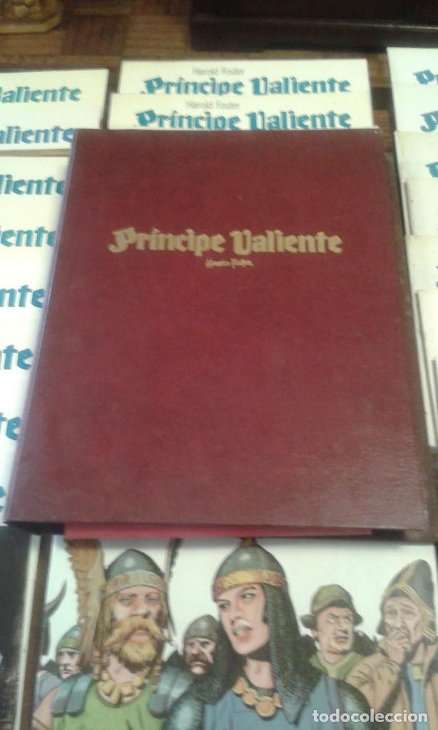 Cómics: PRINCIPE VALIENTE. HAROLD FOSTER. 32 volúmenes 3 estuches - Foto 6 - 89513392