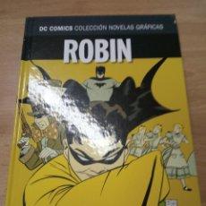 Robin - Año Uno - Dc Comics coleccion novelas graficas ECC