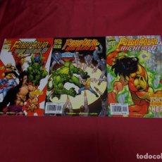 Comics : FUEGO SOLAR Y BIG HERO 6. COLECCION COMPLETA 3 EJEMPLARES. FORUM.. Lote 89730988