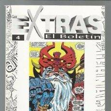 Cómics: LOS EXTRAS DE EL BOLETIN 4: JACK KIRBY, 1997, IMPECABLE. Lote 90050632
