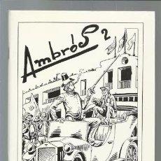 Cómics: AMBRÓS 2, 1991, EL BOLETÍN, IMPECABLE. Lote 90052100