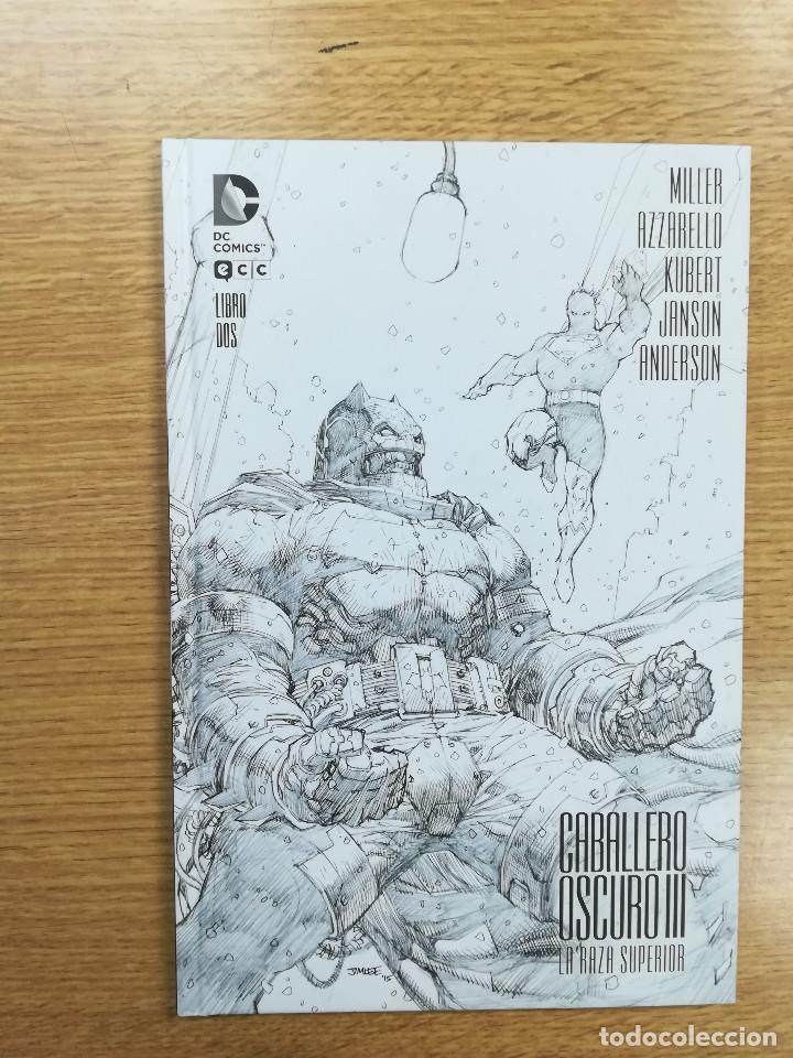 CABALLERO OSCURO III LA RAZA SUPERIOR LIBRO DOS (CARTONE) (ECC EDICIONES) (Tebeos y Comics - Comics otras Editoriales Actuales)
