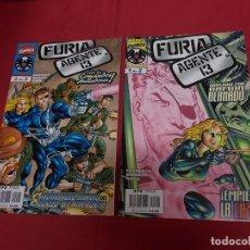 Cómics: FURIA AGENTE 13. COLECCION COMPLETA. 2 EJEMPLARES. FORUM.. Lote 90438189