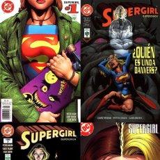 Cómics: SUPERGIRL DE PETER DAVID (PACK 4 TOMOS Nº 1, 2, 3 Y 4) VID. Lote 90467569