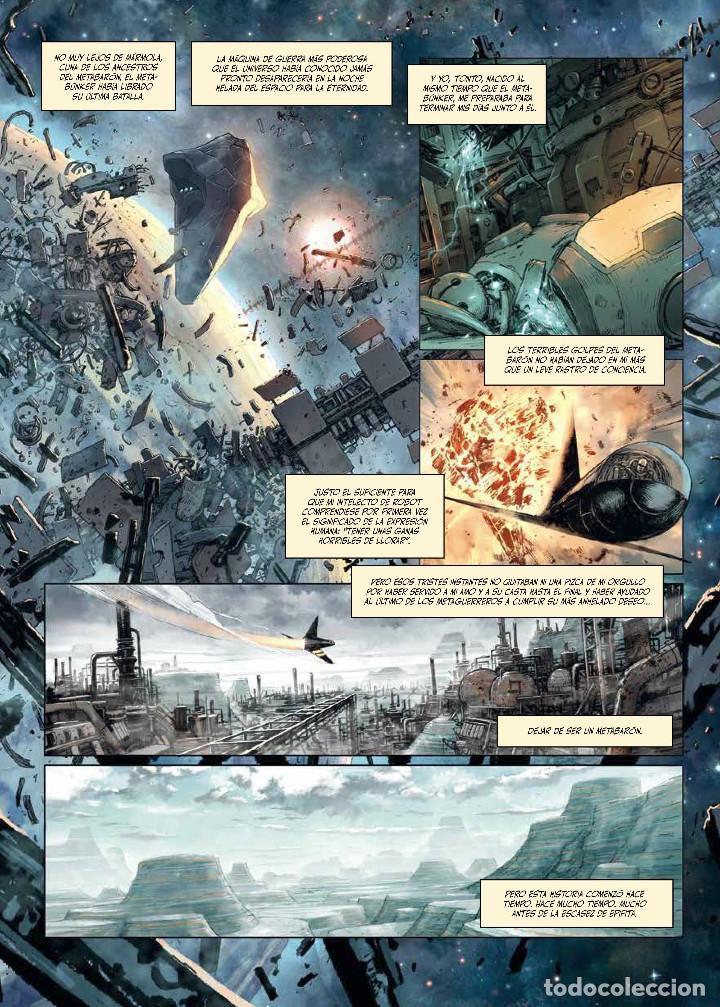 Cómics: Cómics. METABARON 03. ORNATO-8, EL TECNOCARDENAL - Alejandro Jodorowsky/Jerry Frissen/Nik (Cartoné) - Foto 2 - 275735738
