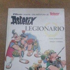 Cómics: ASTERIX LEGIONARIO - PRIMERA EDICIÓN 1969, TAPA DURA, TODO EN EXC CONDICION. Lote 90509655