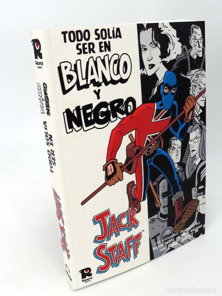 JACK STAFF TODO SOLIA SER EN BLANCO Y NEGRO  V1 USA 1-12 (Paul Grist)  Recerca, 2005  OFRT