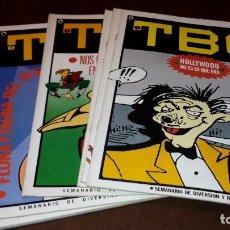 Comics : TBO DE BRUGUERA COMPLETA 1 AL 7. Lote 90813890
