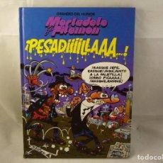 Cómics: MORTADELO Y FILEMON - PESADILLA - NUM 2 - TAPA DURA- F IBAÑEZ - EL PERIODICO 1996. Lote 91273900