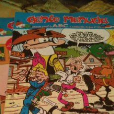 Cómics: LOTE DE 69 TEBEOS GENTE MENUDA (REVISTA BLANCO Y NEGRO, PERIÓDICO ABC) Y ¡¡CON REGALO!!. Lote 91282367