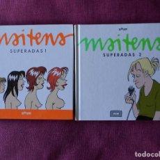 Cómics: SUPERADAS, VOL. I Y II -MAITENA. ED. RQUER, 2003.. Lote 91346640