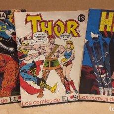 Cómics: LOS COMICS DEL SOL Nº 14 / 16 Y 19 EN PERFECTO ESTADO.. Lote 91355485