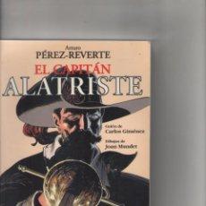 Cómics: EL CAPITAN ALATRISTE-MONDADORI-B Y N-AÑO 2005-Nº UNICO-ARTURO PEREZ REVERTE-DIBUJO JOAN MUNDET. Lote 91395170