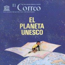 Cómics: CLÉMENT / ASFIA : EL PLANETA UNESCO - AGOSTO SEPTIEMBRE 1976 - COMIC ILUSTRADO EN COLOR. Lote 91546820