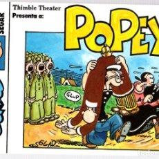 Cómics: POPEYE DE SEGAR. STRIP COMICS. Nº 9. EDICIONES ESEUVE. AÑO 1990. Lote 92119920