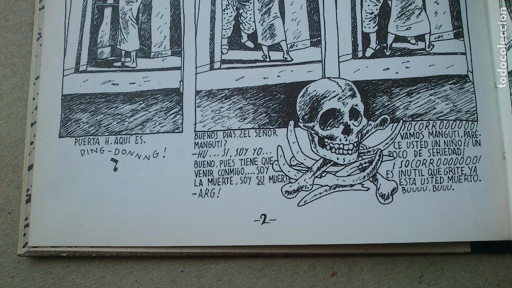 Cómics: SIC TRANSIT O LA MUERTE DE OLIVARES - JAVIER DE JUAN - COLECCIÓN IMPOSIBLE Nº 5 - 1984 - MUY BIEN - Foto 4 - 92304305