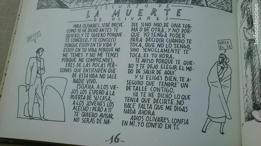 Cómics: SIC TRANSIT O LA MUERTE DE OLIVARES - JAVIER DE JUAN - COLECCIÓN IMPOSIBLE Nº 5 - 1984 - MUY BIEN - Foto 10 - 92304305