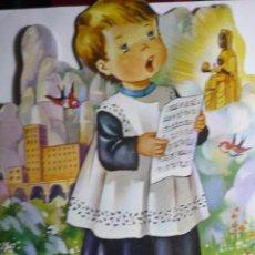 Cómics: CUENTO TROQUELADO L´ESCOLANET DE LA VERGE..CATALAN . Lote 92353925