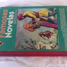 Cómics: FAMOSAS NOVELAS-BRUGUERA-320 PAGINAS ILUSTRADAS A TODO COLOR. Lote 92831780