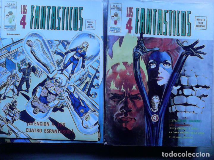 LOS 4 FANTÁSTICOS VÉRTICE VOLUMEN 2. COLECCIÓN COMPLETA. 28 EJEMPLARES. (Tebeos y Comics - Comics Colecciones y Lotes Avanzados)