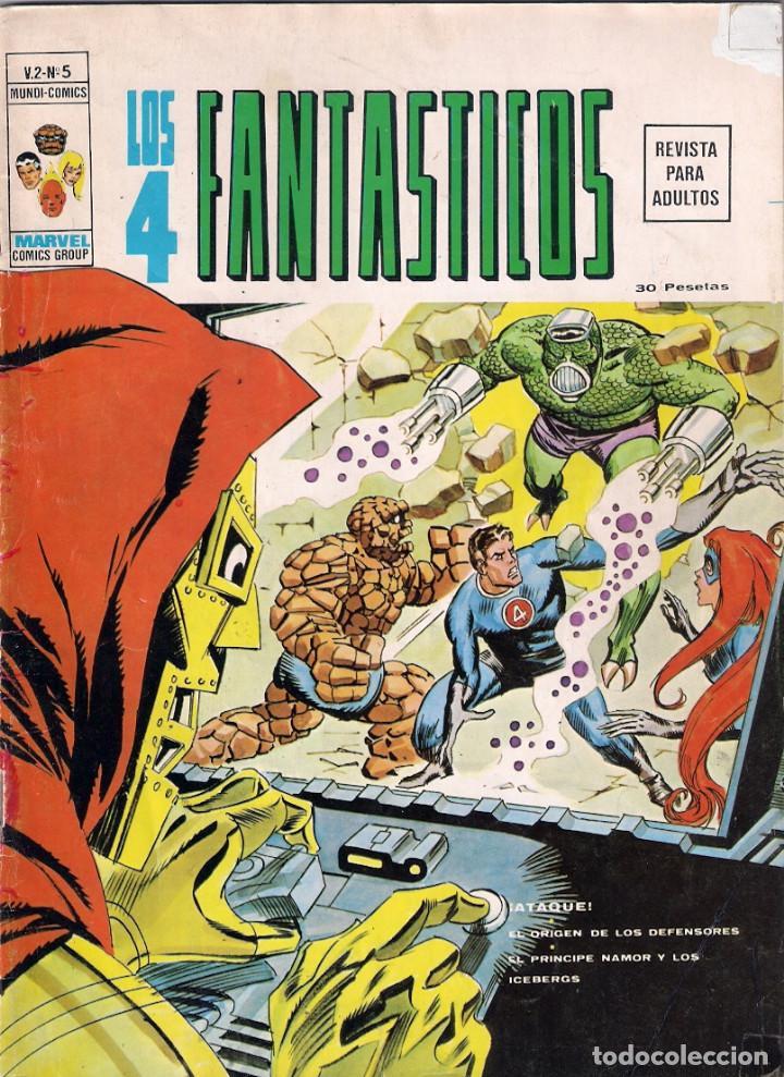 Cómics: Los 4 Fantásticos Vértice Volumen 2. Colección Completa. 28 ejemplares. - Foto 6 - 92920370